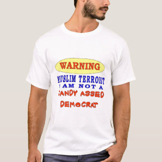 WARING MR. MUSLIM IAM NOT T-Shirt