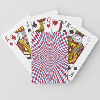 Waring square stylish pattern card deck
