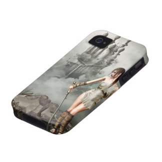 warior and dead dragon iPhone 4/4S case