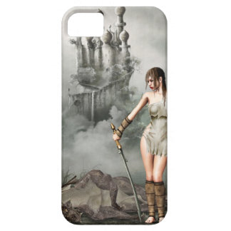 warior and dead dragon iPhone 5 cover