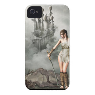 warior and dead dragon iPhone 4 covers