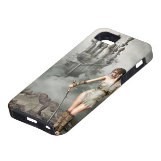 warior and dead dragon iPhone 5 case