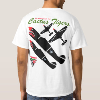 Warkites P-40 Guadalcanal 43 T-Shirt