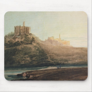 Warkworth Castle, Northumberland, c.1798 (w/c, gou Mouse Pads