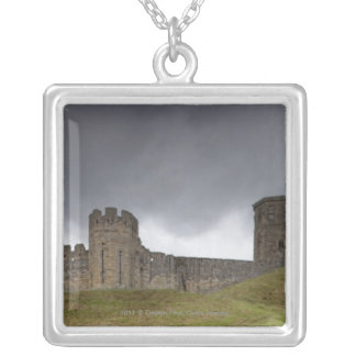 Warkworth Castle Silver Plated Necklace