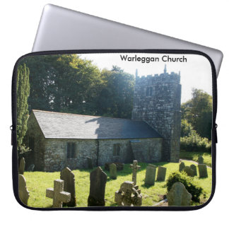 Warleggan Church Cornwall England Laptop Sleeve