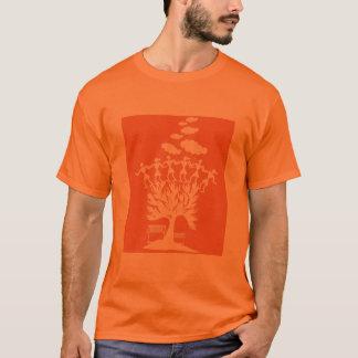 Warli Dance - Indian Folk Art T-Shirt
