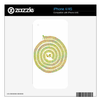 warli hippie skins for iPhone 4S