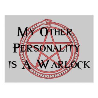 Warlock Post Card