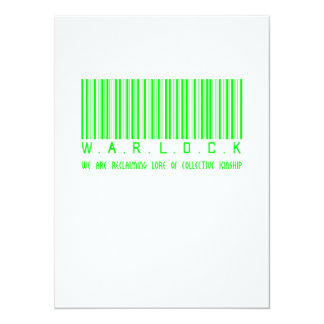 Warlock Reclaiming 5.5x7.5 Paper Invitation Card