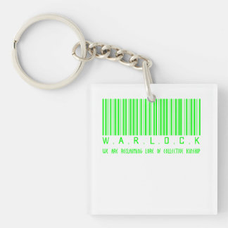 Warlock Reclaiming Keychain