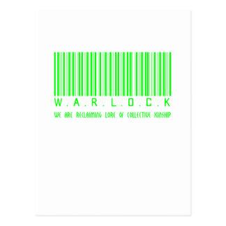 Warlock Reclaiming Postcard