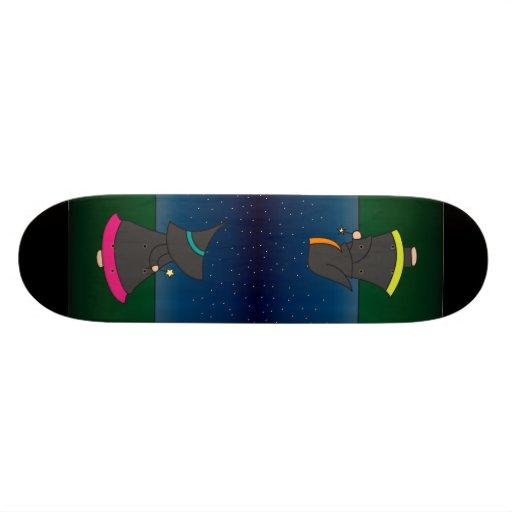 Warlock Wade & Witchy Wendy Skateboard