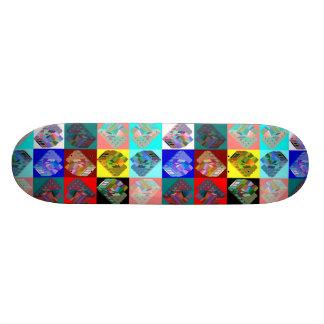 Warlong-Recorrido CabOver el arco iris de Patines Personalizados