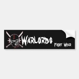 Warlords Fight  Wear Car Bumper Sticker