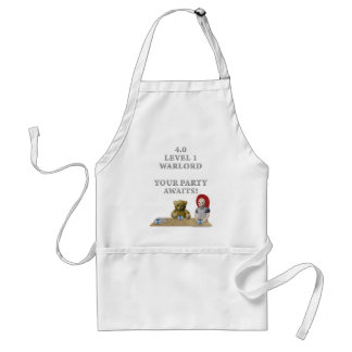 Warlord's Party Adult Apron