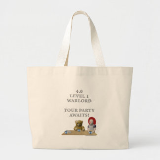 Warlord's Party Large Tote Bag