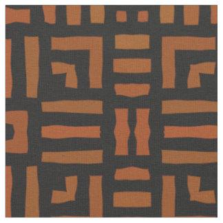 Warm African Tribal Design Fabric