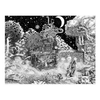 Warm Against the Night Postcard