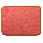 Warm AMBER Brilliance - Add your text in White MacBook Pro Sleeve