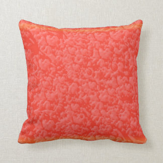 Warm AMBER Brilliance - Add your text in White Throw Pillows