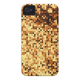 Warm Amber Pattern 5 iPhone 4 Case-Mate Case