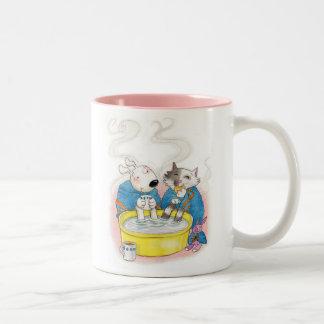 Warm and cosy drinks mug