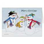 Warm and cozy Christmas Greeting Card