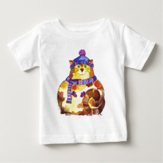Warm and Cuddly Kitty Cat Kitten Baby T-Shirt