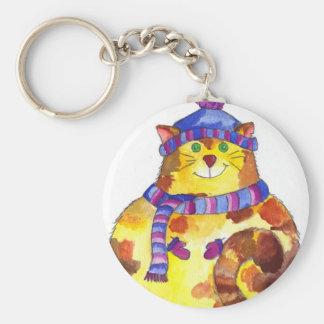 Warm and Cuddly Kitty Cat Kitten Keychains