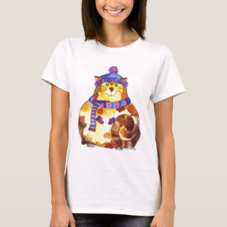 Warm and Cuddly Kitty Cat Kitten T-Shirt