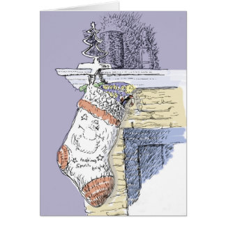 Warm and Happy Christmas Card