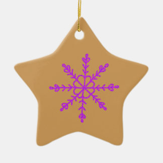 Warm and Lovely Christmassy Ceramic Ornament