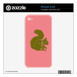 Warm and Lovely Christmassy Decals For iPhone 4