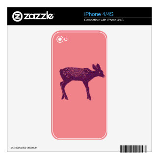 Warm and Lovely Christmassy iPhone 4S Decal