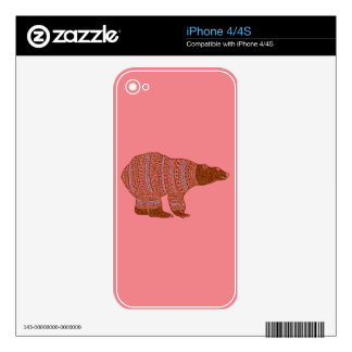 Warm and Lovely Christmassy iPhone 4S Decals