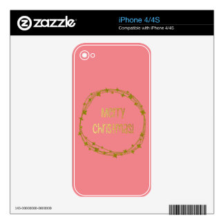 Warm and Lovely Christmassy Skin For iPhone 4S