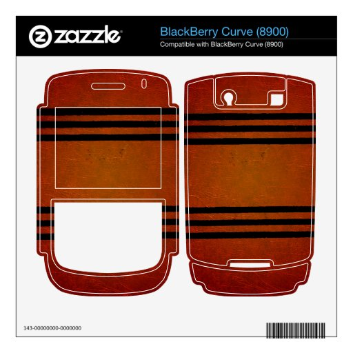 Warm and Rustic Decals For BlackBerry