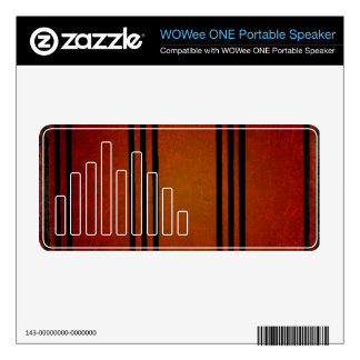 Warm and Rustic Decal For WOWee Speaker