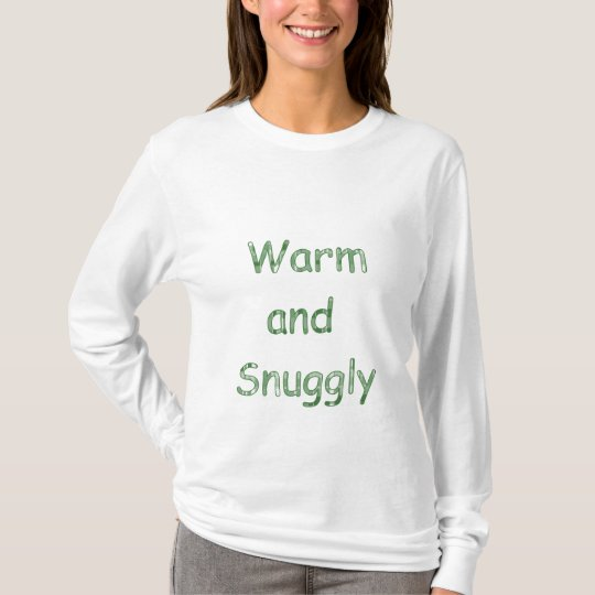 Warm and Snuggly Long Sleeved Ladies Tshirt