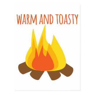 Warm And Toasty Postcard