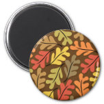 Warm Autumn Leaves Fridge Magnets