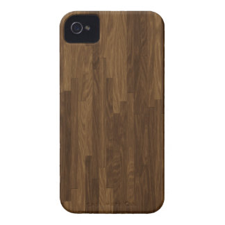Warm Brown Hardwood Floor Photo iPhone 4 Case-Mate