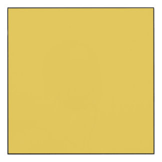 Warm Butterscotch Solid Color Wood Wall Art