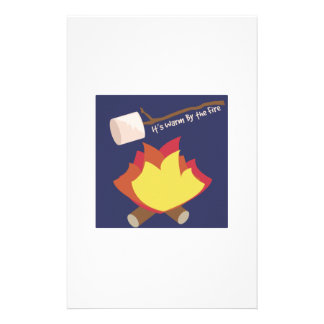 Warm By The Fire Stationery