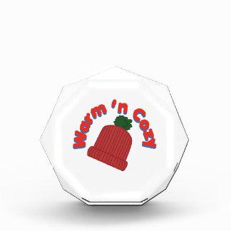 Warm Cap Acrylic Award