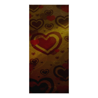 Warm Chocolate Rack Card