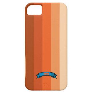 Warm Color Stripe Pattern iPhone 5 Case