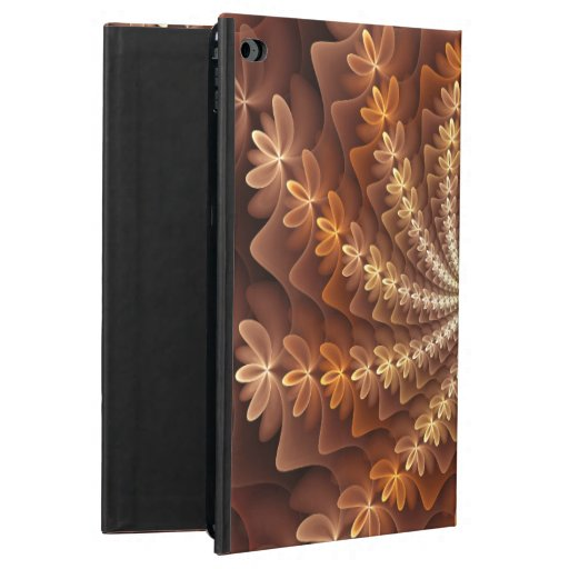 Warm Colors, Modern Abstract Fractal Art Pattern Powis iPad Air 2 Case