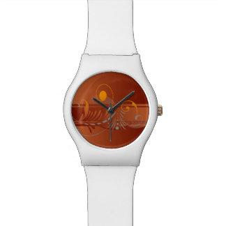 Warm Colors of Fall Wrist Watch